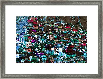 The City On The Hill V1p168 Framed Print by Wingsdomain Art and Photography