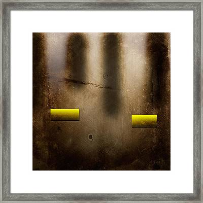 The City Framed Print by Peter Tellone