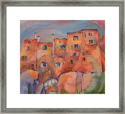 The City Walls Watch Framed Print