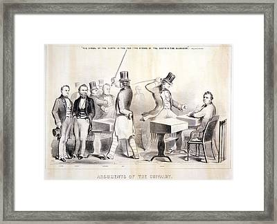 The Civil War, The Attack And Severe Framed Print by Everett