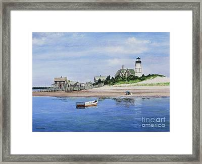 The Clammer Framed Print