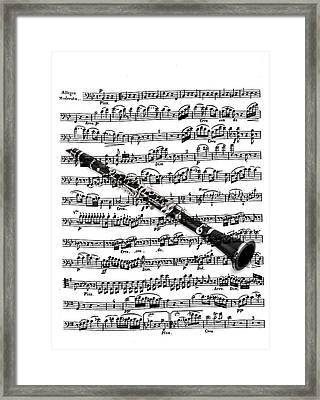 The Clarinet Framed Print