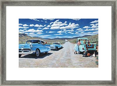 the Classic Book Club Framed Print by Dwayne  Davis