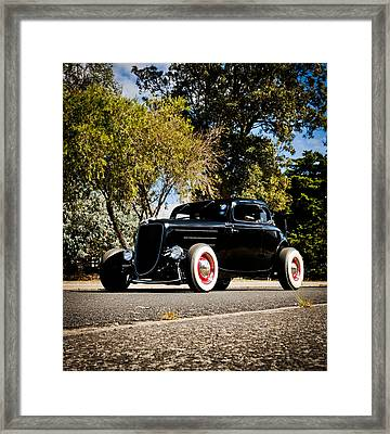 The Classic Hot Rod Framed Print by motography aka Phil Clark
