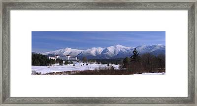 The Classic Mount Washington Hotel Shot Framed Print