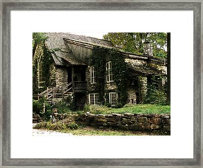 The Clearing Lodge Framed Print
