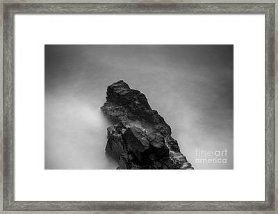 Framed Print featuring the photograph The Cliff by Gunnar Orn Arnason
