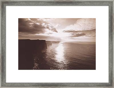 The Cliff Of Moher Ireland Framed Print by Panoramic Images