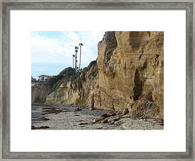 The Cliffs Framed Print by John Wilson