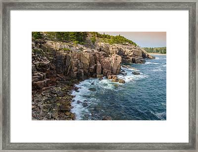 The Cliffs Framed Print by Kristopher Schoenleber