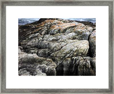 The Cliffs Framed Print by Marcia Lee Jones
