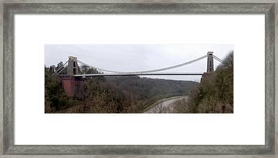 The Clifton Suspension Bridge Framed Print