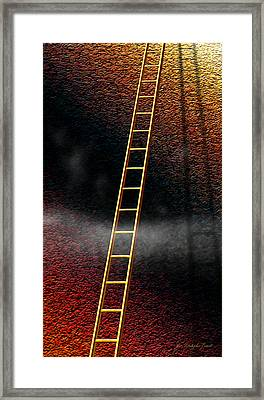 The Climb Framed Print by Cristophers Dream Artistry