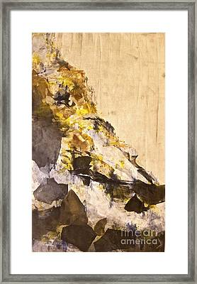 The Climb Framed Print by Deborah Talbot - Kostisin