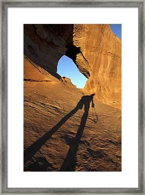 The Climb Framed Print by Mike McGlothlen
