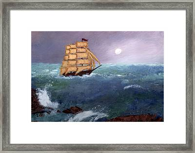 The Clipper Framed Print