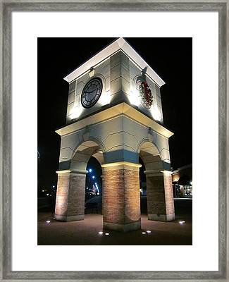 The Clock Tower Framed Print by Guy Ricketts