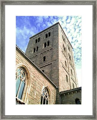 The Cloisters Framed Print by Jon Woodhams