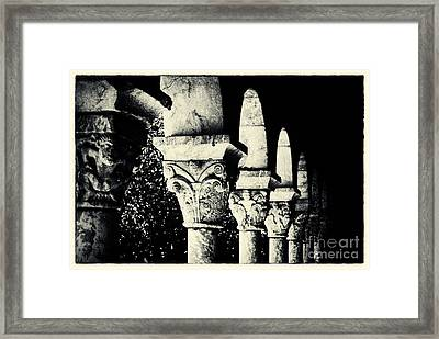 The Cloisters New York City Framed Print by Sabine Jacobs
