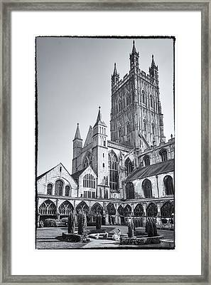 Framed Print featuring the photograph The Cloisters by Stewart Scott