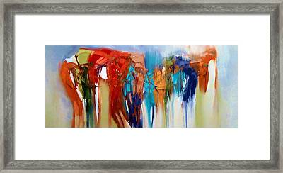 Framed Print featuring the painting The Closet by Lisa Kaiser