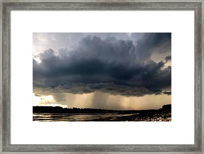 The Cloud Framed Print by Donnie Freeman