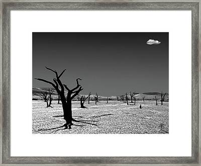 The Cloud From The Dead Framed Print