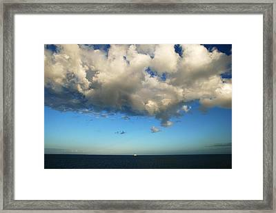 The Cloud Framed Print