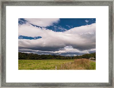 Framed Print featuring the photograph The Clouds by Sergey Simanovsky