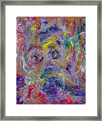 The Clown Framed Print