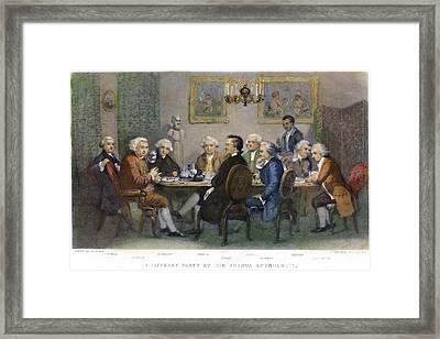 The Club, 1851 Framed Print