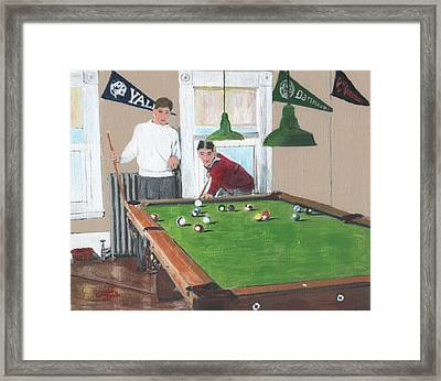 The Club House Framed Print