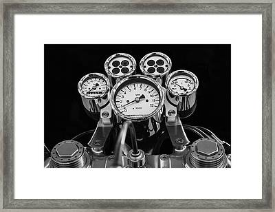 The Cluster Framed Print