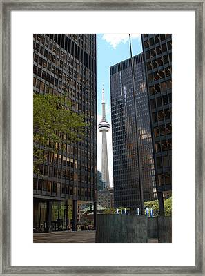 The Cn Tower Framed Print