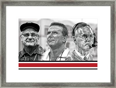 The Coaches Framed Print