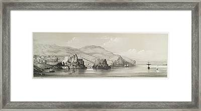 The Coast Of Madeira Framed Print by British Library