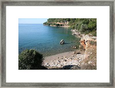 Framed Print featuring the photograph The Coast To Oren  by Tracey Harrington-Simpson