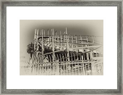 The Coaster Framed Print by Russell Christie
