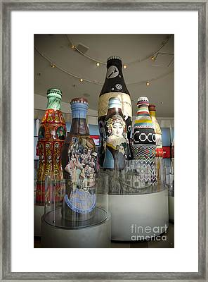 The Coca-cola Sculptures Framed Print by Jessica Berlin