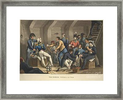 The Cockpit, Battle Of The Nile Framed Print
