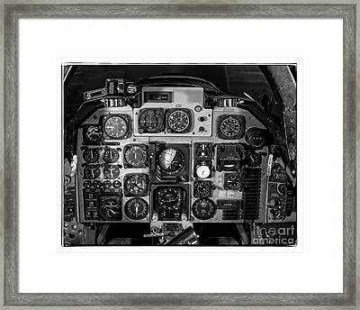 The Cockpit Framed Print by Edward Fielding
