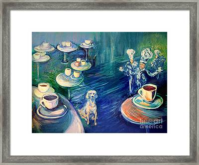 The Coffee Chefs  Framed Print by Frederick  Luff