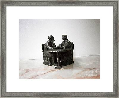 The Coffee Framed Print by Nikola Litchkov