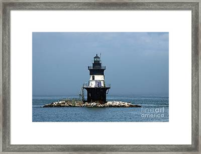 The Coffee Pot Lighthouse Framed Print