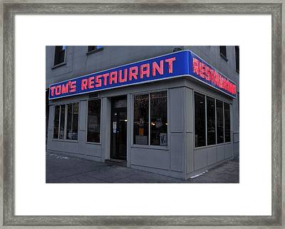 The Coffee Shop Framed Print by Benjamin Yeager