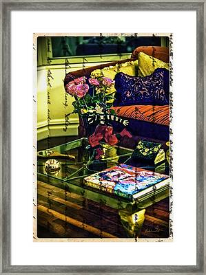 The Coffee Table Framed Print