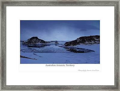 The Cold March Framed Print by David Barringhaus