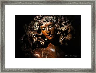 The Cold Shoulder Framed Print