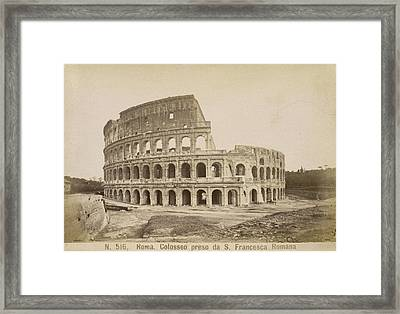 The Coliseum Framed Print by British Library