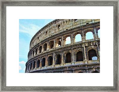 The Coliseum Framed Print
